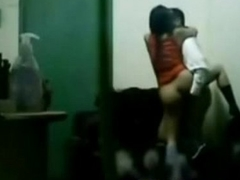 indian boss making out his slot girls in manipulate sex in cabin