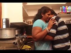 Hot desi masala aunty seduced by a teen boy