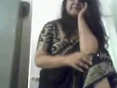Indian aunty stripping