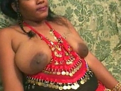 Ebony Indian bitch