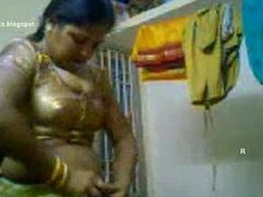 Tamil ponnu self subtraction