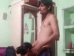 Desi Gf Giving Blowjob to Lover